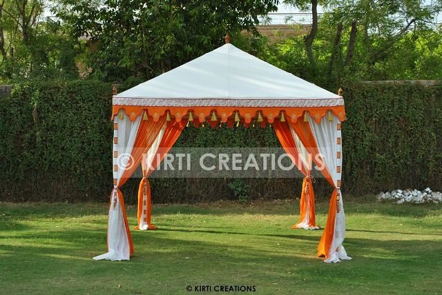 Handcrafted Wedding Tents
