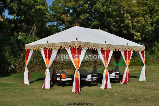 Handmade Party Tents