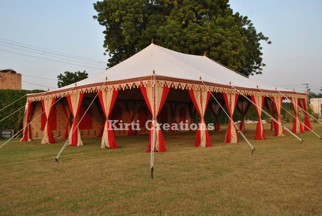 Traditional Raj Tents