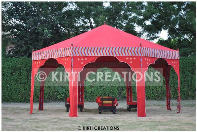 Indian Ottoman Tents