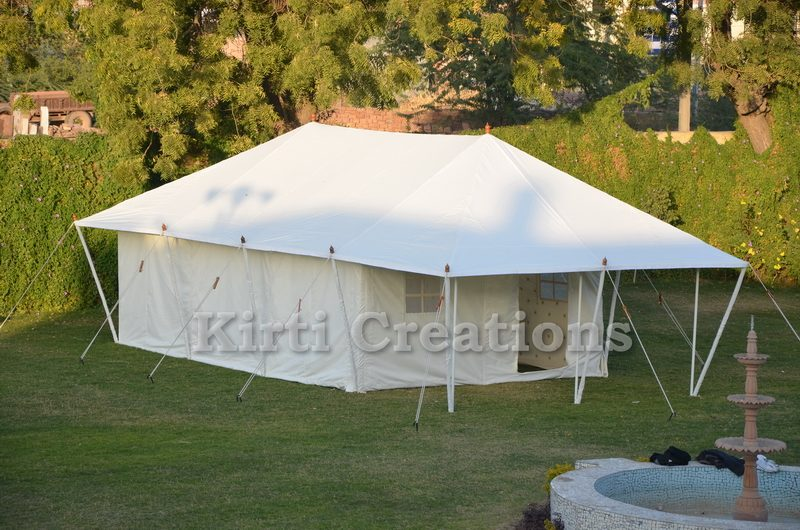 Spacious  Swiss Cottage Tents