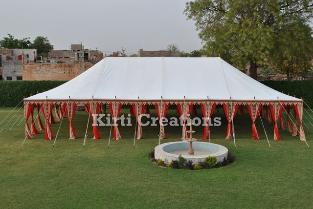 Monolithic Royal Maharaja Tents