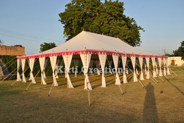 Designer Royal Maharaja Tents