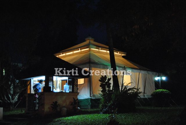 Handcrafted Mughal Tents