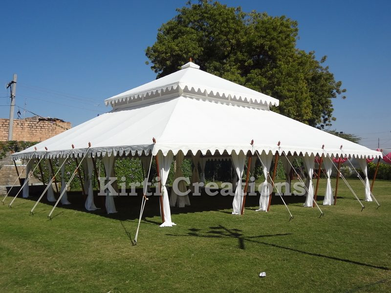 Luxurious Mughal Tents