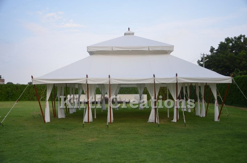 Aesthetic Mughal Tents